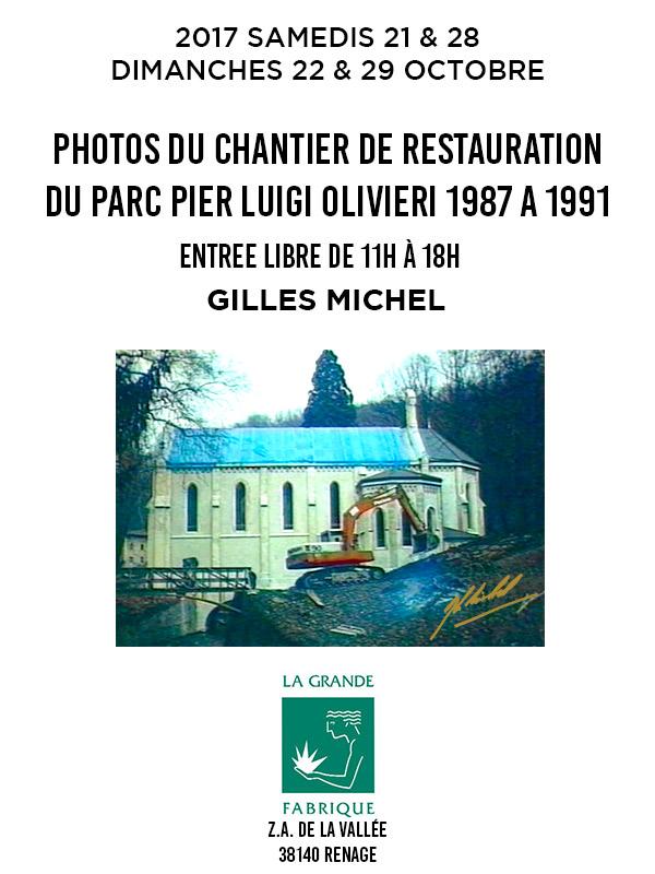 Affiche Expo Gilours