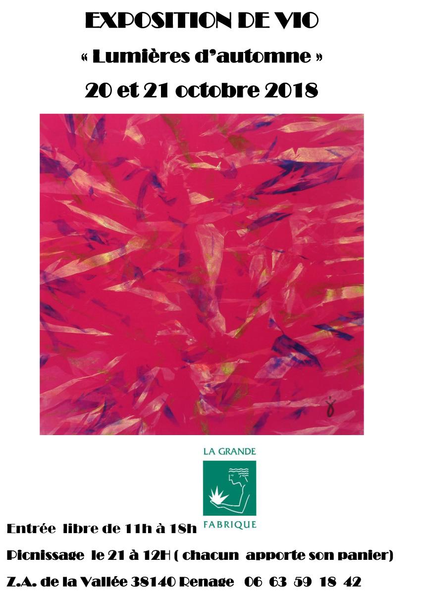 Affiche-Lumières d'automne-2018