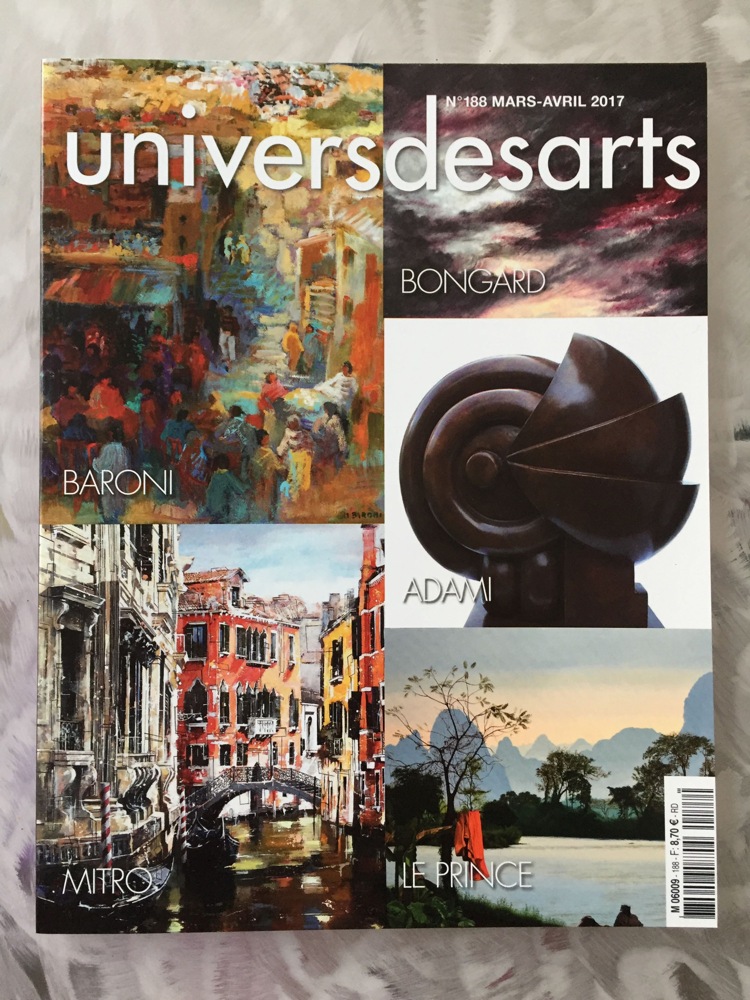 Le Magazine Univers des Arts