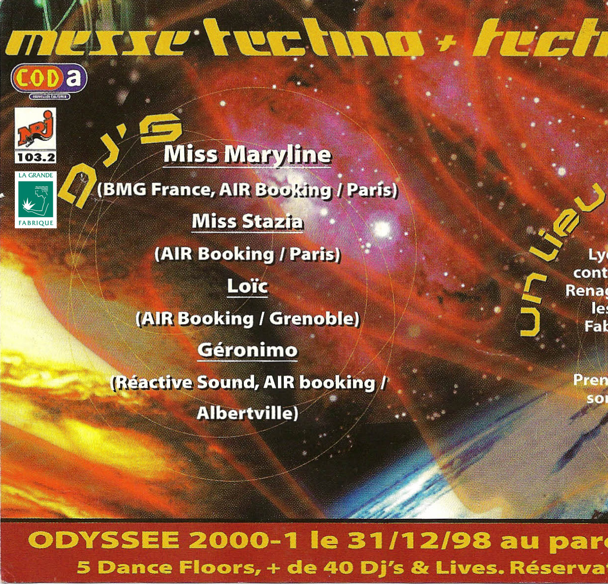 Messe techno 1998-1