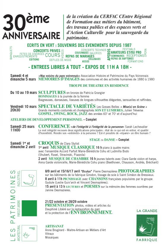 Programme 2017-2