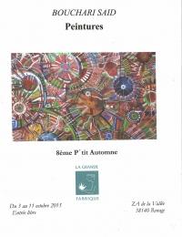 8ème p'tit automne Bouchari Saïd