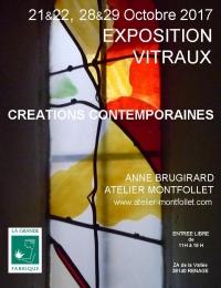 Affiche Expo Atelier Montfollet La Grande Fabrique 2017