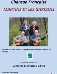 MARTINE ET LES GARCONS EN CONCERT 2015