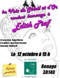Hommage à Edith Piaf