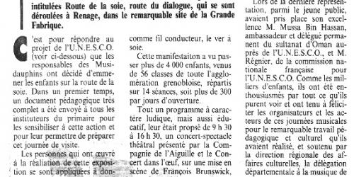 1991 asso départementale musidauphins 1